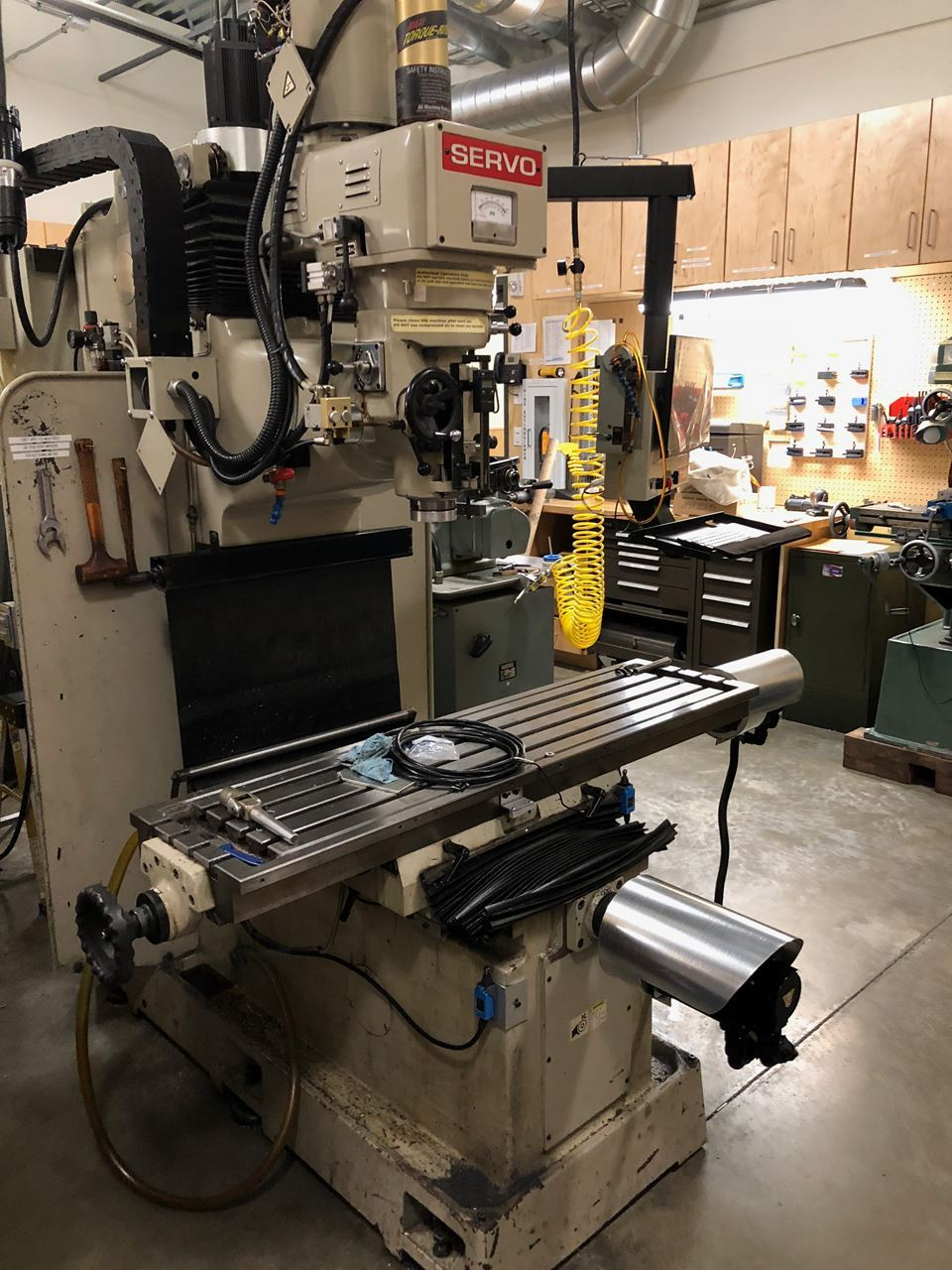 Vertical Milling Machines Lost Creek Machine >> Barn All Classes